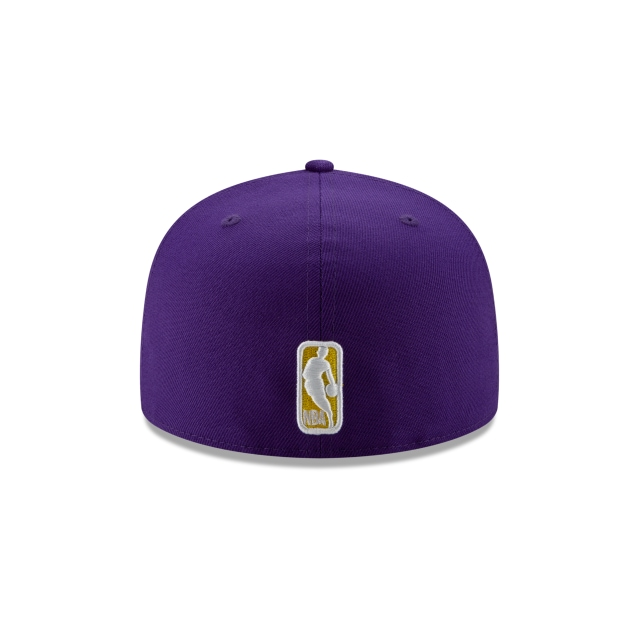 Los Angeles Lakers Double Hit 59FIFTY Fitted | Los Angeles Lakers Hats | New Era Cap