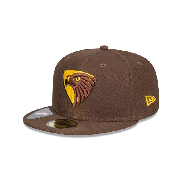 Hawthorn Hawks Team Colour 59FIFTY Fitted | Hawthorn Hawks Hats | New Era Cap