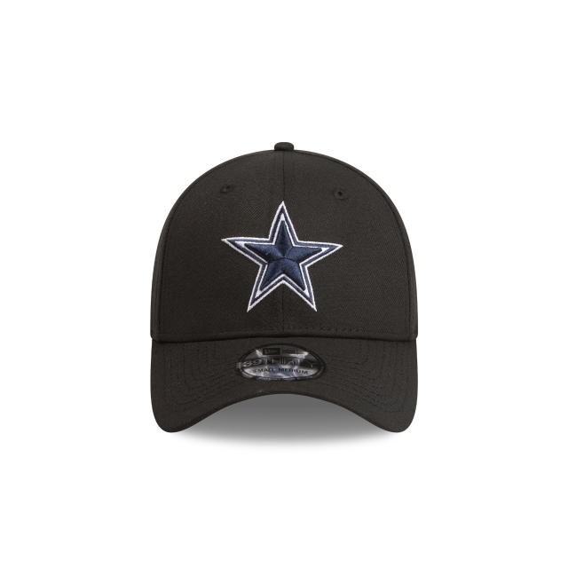 Dallas Cowboys Black 39THIRTY Stretch Fit | Dallas Cowboys Hats | New Era Cap