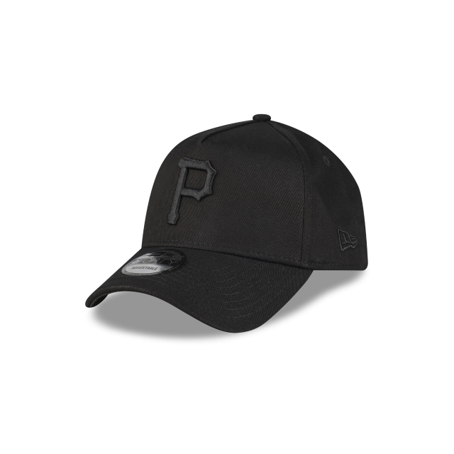 Pittsburgh Pirates Black On Black 9forty A-frame | New Era Cap