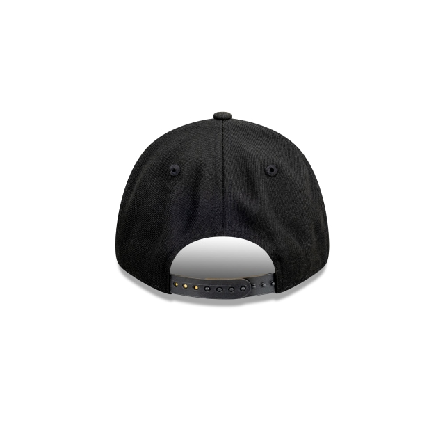 Tampa Bay Rays Black On Black 9FORTY | Tampa Bay Rays Hats | New Era Cap