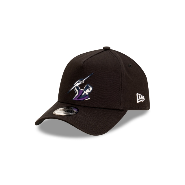 Melbourne Storm Black 9FORTY A-frame | Melbourne Storm Hats | New Era Cap