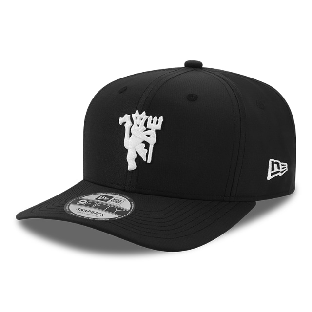 Manchester United Black Ripstop 9FIFTY Stretch Snapback | Manchester United Hats | New Era Cap