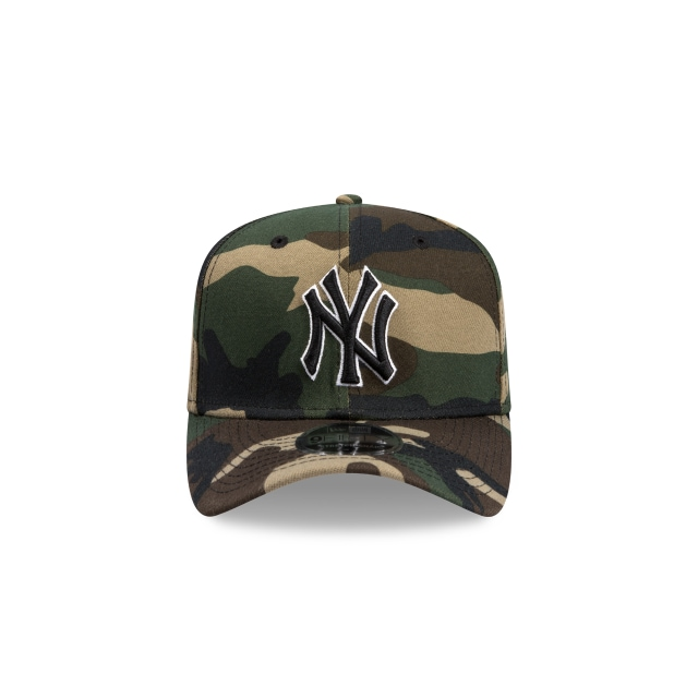 New York Yankees Camo 9FIFTY Stretch Snapback | New York Yankees Hats | New Era Cap