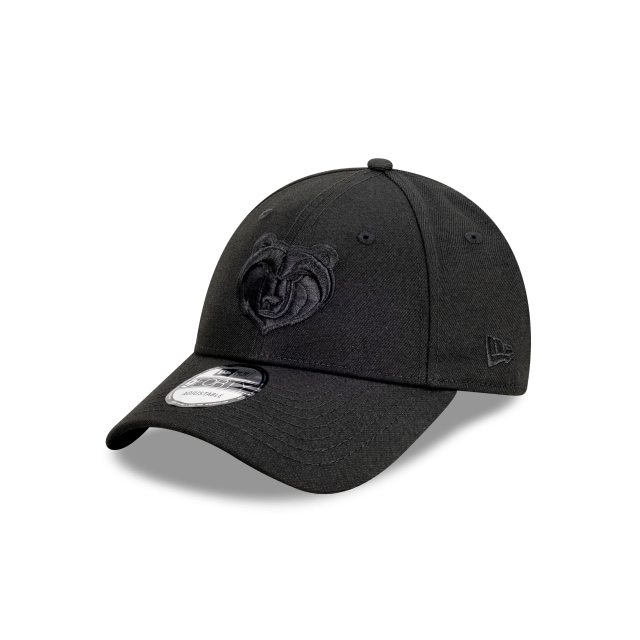 Memphis Grizzlies Black On Black 9FORTY | Memphis Grizzlies Hats | New Era Cap
