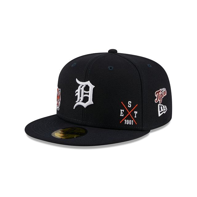 Detroit Tigers Multi Patch Official Team Colours 59FIFTY Fitted | Detroit Tigers Hats | New Era Cap