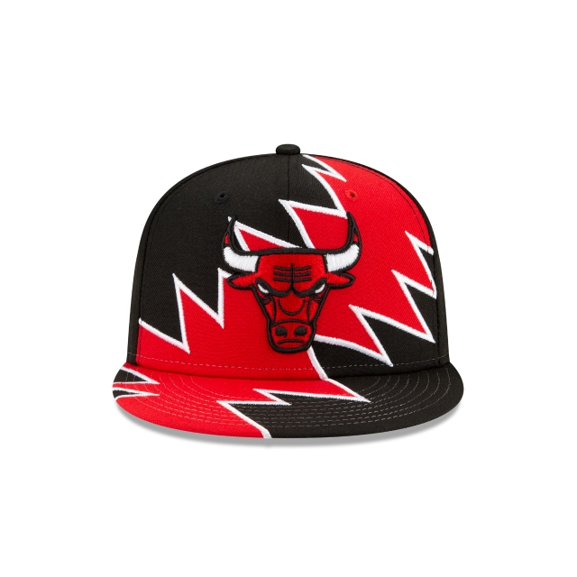 Chicago Bulls NBA Flash Official Team Colours 9FIFTY Snapback | Chicago Bulls Hats | New Era Cap