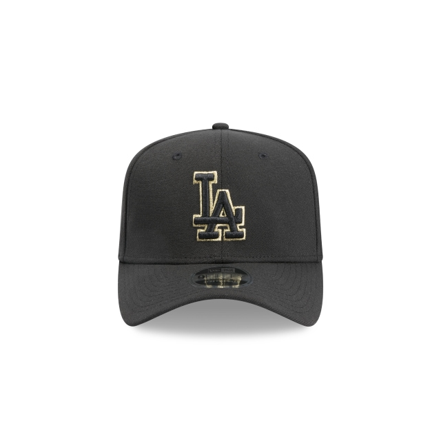 Los Angeles Dodgers Black Gold 9FIFTY Stretch Snapback | Los Angeles Dodgers Hats | New Era Cap