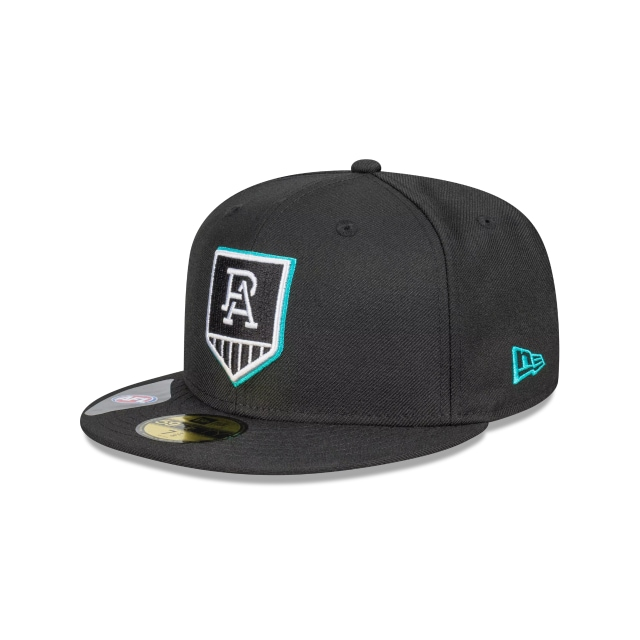 Port Adelaide Power Team Colour 59FIFTY Fitted | Port Adelaide Power Hats | New Era Cap