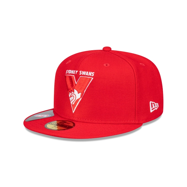 Sydney Swans Team Colour 59fifty Fitted | New Era Cap