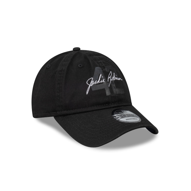 Jackie Robinson X New Era Los Angeles Dodgers Black Unstructured 9FORTY | Los Angeles Dodgers Hats | New Era Cap