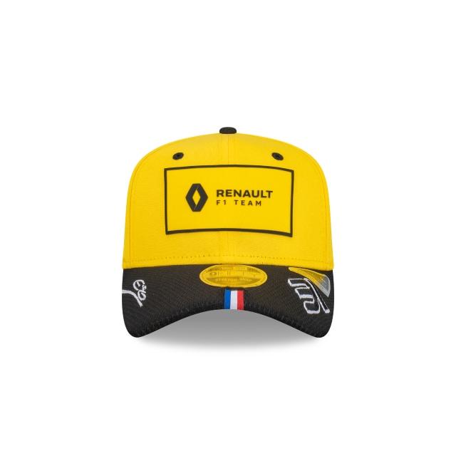 Esteban Ocon Renault F1 Yellow 9FIFTY Stretch Snapback | Renault Hats | New Era Cap
