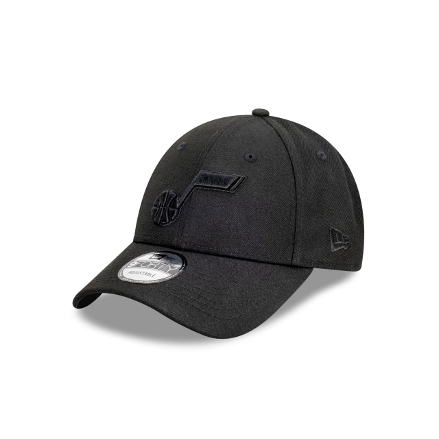 Utah Jazz Black On Black 9FORTY | Utah Jazz Hats | New Era Cap