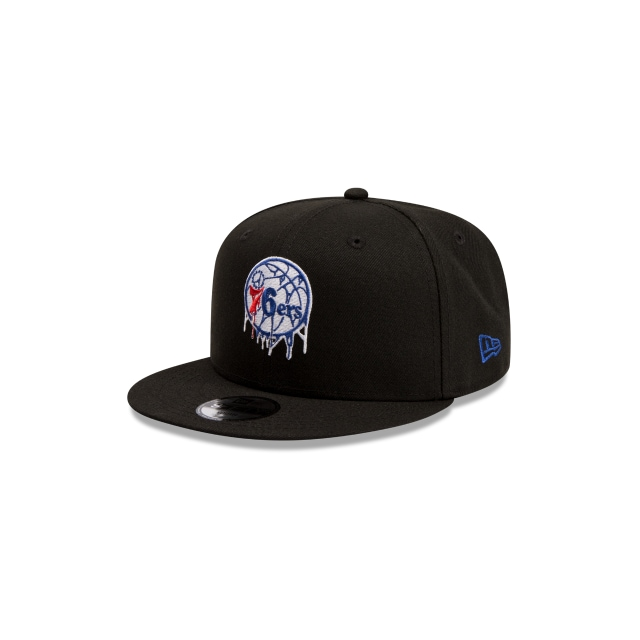 Philadelphia 76ers Youth Drip Logo 9FIFTY | Philadelphia 76ers Hats | New Era Cap
