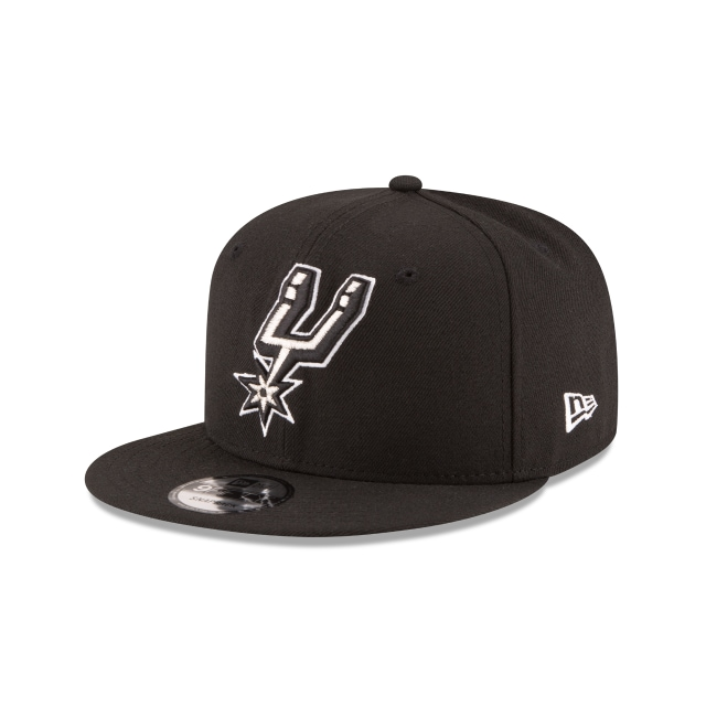 San Antonio Spurs Official Team Colour 9FIFTY Snapback | San Antonio Spurs Hats | New Era Cap