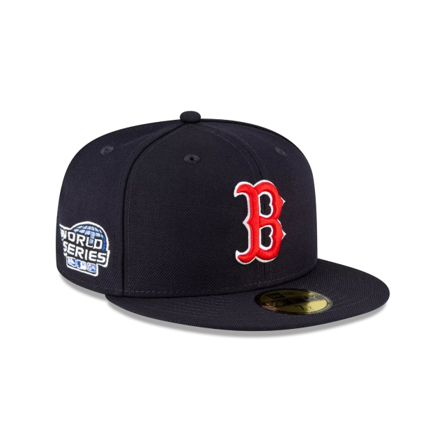 Boston Red Sox World Series Side Patch 59FIFTY Fitted | Boston Red Sox Hats | New Era Cap