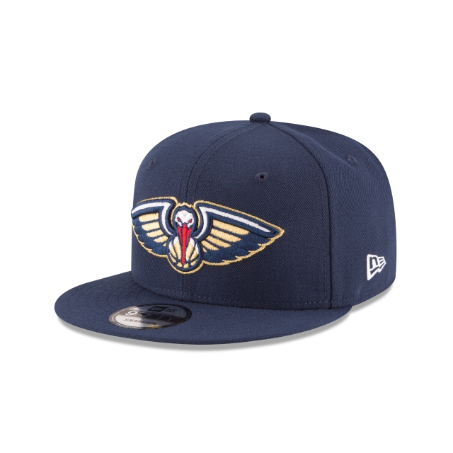 New Orleans Pelicans Official Team Colour 9FIFTY Snapback | New Orleans Pelicans Hats | New Era Cap