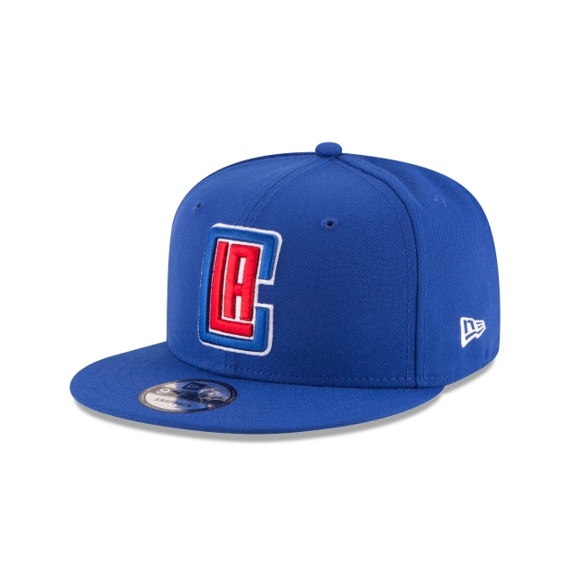 Los Angeles Clippers Official Team Colour 9FIFTY Snapback | Los Angeles Clippers Hats | New Era Cap