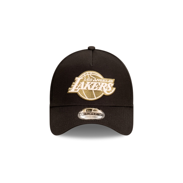 Los Angeles Lakers Black And Olive 9FORTY A-frame Snapback | Los Angeles Lakers Hats | New Era Cap