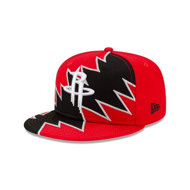 Houston Rockets NBA Flash Game Official Team Colours 9FIFTY Snapback | Houston Rockets Hats | New Era Cap