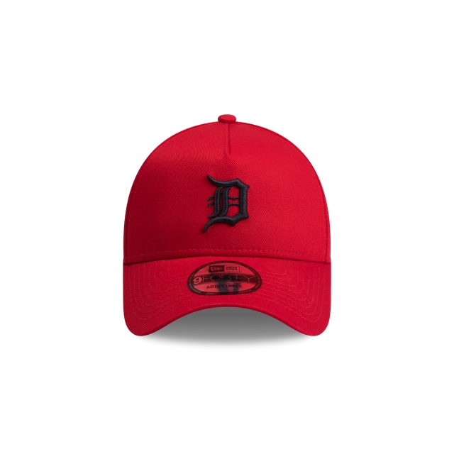 Detroit Tigers Scarlet Navy 9forty A-frame | Detroit Tigers Baseball Caps | New Era Cap