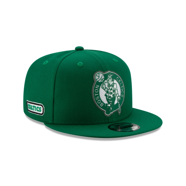 Boston Celtics NBA Authentics Back HaLF Series 9FIFTY Snapback | Boston Celtics Hats | New Era Cap